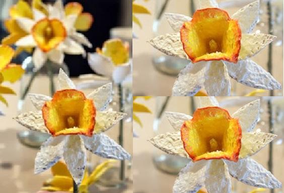 Flor Reciclável Feita
