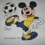 Gráficos do Mickey Em Ponto Cruz – Idéias e Fotos