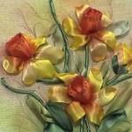 Como Bordar Orquídeas em Fitas de Cetim – Material e Passo a Passo.