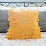Como Fazer Uma Almofada de Girassol Com Feltro – Materiais e Passo a Passo