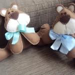 Como Decorar Quarto de Bebê Fazendo Urso de Feltro – Material e Passo a Passo