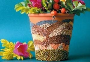 Como Decorar Seu Vaso de Planta Em Mosaico – Materiais e Passo a Passo