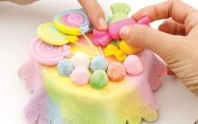 Como Fazer Baleiro Colorido de Biscuit – Material e Passo a Passo