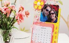 Como Fazer Calendário Porta Retrato de Scrapbooking – Passo a Passo