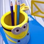 Porta-Lápis dos Minions Feito de EVA – Material e Passo a Passo