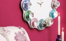 Relógio Artesanais Feitos com Objetos Reciclados- Passo a Passo