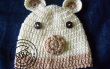 Como Fazer Touca de Ursinho em Crochê – Material e Vídeo