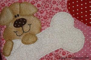 Como Fazer Patch Apliquê de Cachorro – Molde e Passo a Passo