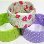Dicas de Como Fazer Bracelete Usando Caixa de Leite e Tecido – Passo a Passo