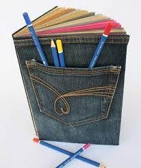 Como Encapar e Decorar Caderno Com Jens Usando – Passo a Passo