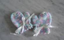Como Fazer Luvinha de Crochê Para Bebê – Material e Vídeo Passo a Passo