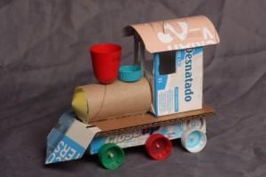 Trenzinho de Papel – Como Fazer com Material Reciclado – Dicas