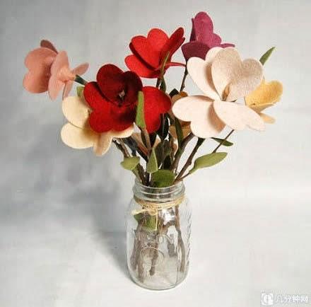 arranjo-flores-feltro