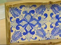 Técnica de Pintura Azulejo Português em Madeira – Como Fazer