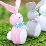 Como Fazer Coelhinhos de Meia Para a Páscoa – Materiais e Passo a Passo