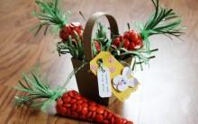 Lembrancinhas de Páscoa Saquinhos de Cenoura –  Como Fazer