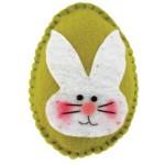 Lembrancinha Ovo de Páscoa em Feltro – Material e Passo a Passo