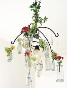 Como Fazer Lustre de Vidros Reciclados – Material e Passo a Passo