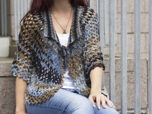 Pelerine de Tricô e Crochê Podendo Usar a Peça Como Saia – Material, Dicas e Passo a Passo