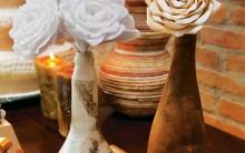 Arranjo de Flores com Filtro de Café – Como Fazer