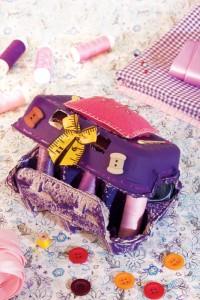 Caixa de Costura Feita com Material Reciclado – Como Fazer