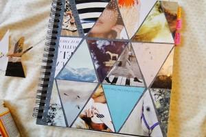 Como Decorar Capa de Caderno Usando Revistas – Passo a Passo