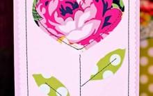 Como Fazer Cartão Com Tecido Para Dia das Mães – Material e Passo a Passo