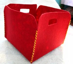 Porta-Trecos de Carpete – Como Fazer