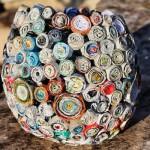 Como Fazer Cesto Com Revistas Velhas – Material e Passo a Passo