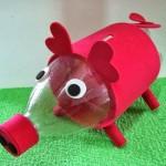 Cofre Porquinho de Garrafa Pet Reciclada – Como Fazer