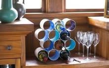 Rack Para Garrafas Feito com Lata de Alumínio Reciclada – Material e Passo a Passo