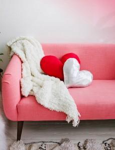 Almofada em Forma de Coração – Como Fazer