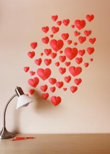 Decoração de Parede Coração de Papel em 3D – Passo a Passo e Dicas