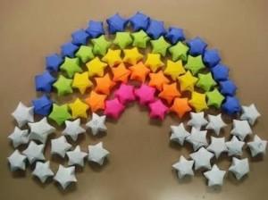 Como Fazer Estrelas de Papel – Origami – Passo a Passo
