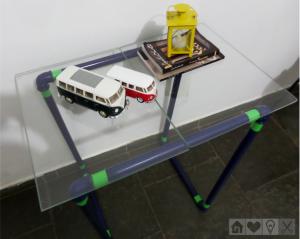 Mesinha Usando Cano de PVC – Como Fazer