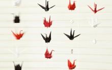 Móbile de Origami Tsuru – Como Fazer