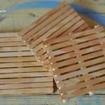 Mini Pallets de Palito de Sorvete – Como Fazer