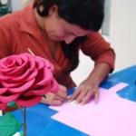 Como Fazer Rosa de EVA – Materiais e Passo a Passo