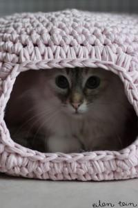 Cama-Gato-Crochê