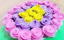 Caixa de Acrílico Decorado Com Rosas de EVA – Passo a Passo