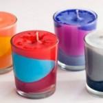 Velas Decorativas Coloridas – Como Fazer