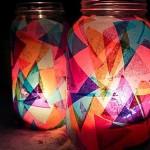 Luminária Colorida – Passo a Passo