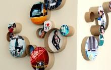Mural de Fotos Com Role de Papel Higiênico – Como Fazer