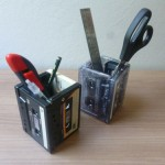 Porta Lápis Usando Fitas K7 – Como Fazer o Passo a Passo