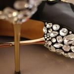 Sapato Customizado Com Pedraria – Como Fazer