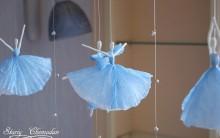 Mobile Bailarinas de Guardanapo – Como Fazer Passo a Passo