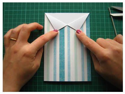 camisa-cartão-papel-dobra