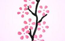 Pintura Flor de Cerejeira – Passo a Passo