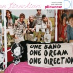 Fronha Customizada One Direction – Como Fazer