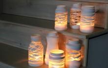 Luminária de Pote de Vidro – Como Fazer Passo a Passo